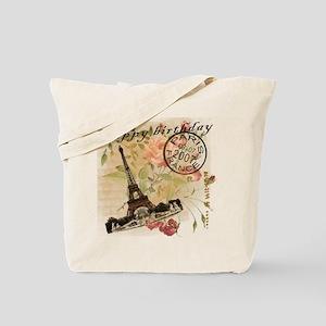 7.07 Birthday Vintage Tote Bag