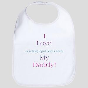 Daddy's Legal Briefs Bib