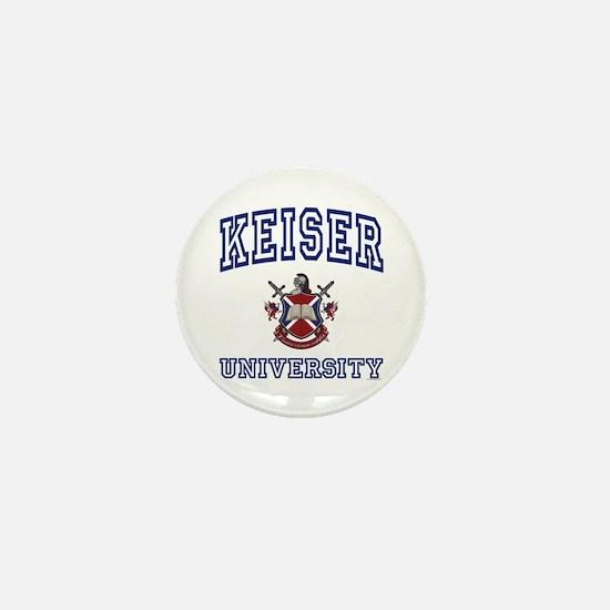 KEISER University Mini Button