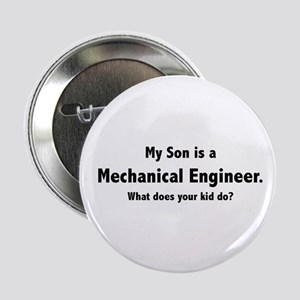 Mechanical Engineer Son Button