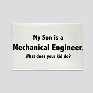 Mechanical Engineer Son Rectangle Magnet