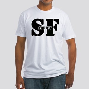SF Addict Fitted T-Shirt