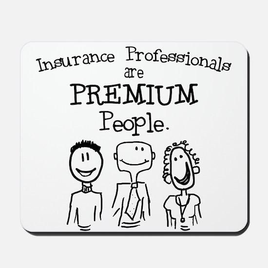 """Premium People"" Mousepad"