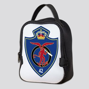 Belgium Air Force BAF Patch 42 Neoprene Lunch Bag