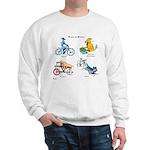 Dogs on Bikes Sweatshirt