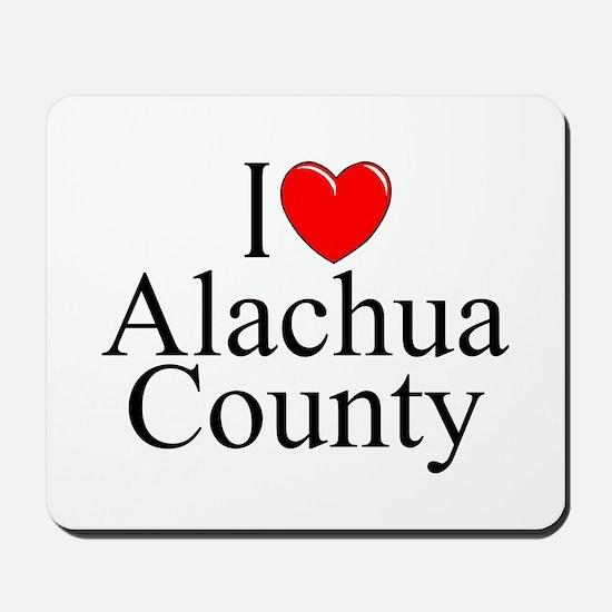 """I Love Alachua County"" Mousepad"