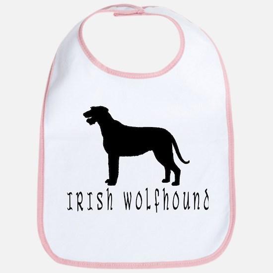 Irish Wolfhound w/ Text #2 Bib