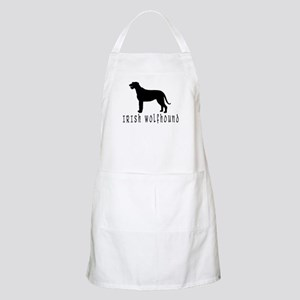 Irish Wolfhound w/ Text #2 BBQ Apron