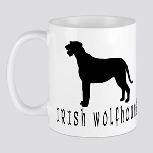 Irish Wolfhound w/ Text #2 Mug