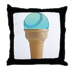 Perfect Summer - Blue Throw Pillow