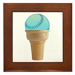 Perfect Summer - Blue Framed Tile