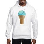 Perfect Summer - Blue Hooded Sweatshirt