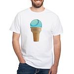 Perfect Summer - Blue White T-Shirt