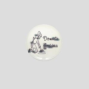 Domestic Goddess II Mini Button