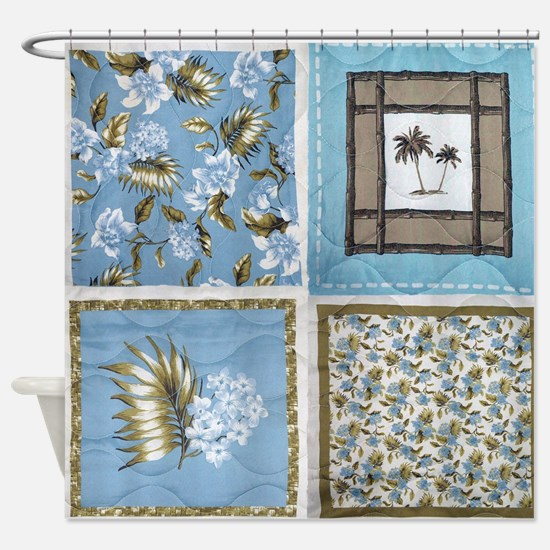 Quilt Shower Curtain
