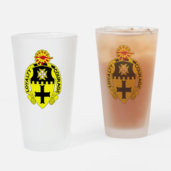 5th Squadron  5th Cavalry Drinking Glass