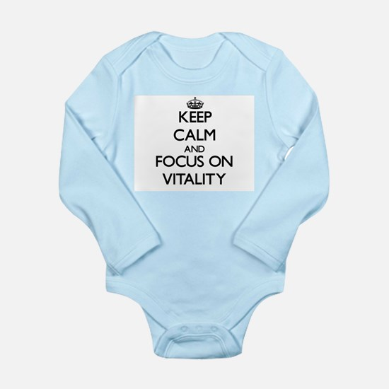 Keep Calm by focusing on Vitality Body Suit