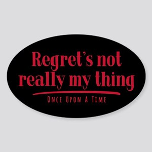 OUAT Regret's Not Really My Thing Sticker