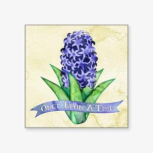 OUAT Hyacinth Flower Sticker