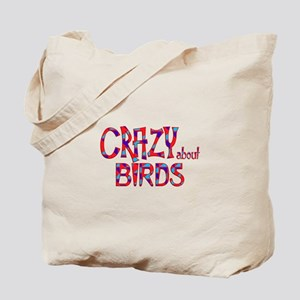 Crazy About Birds Tote Bag