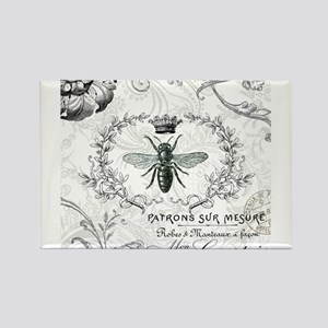 Vintage french shabby chic queen bee collage Magne