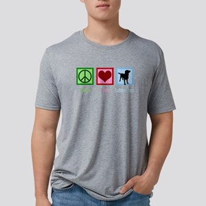 Cute Labrador Mens Tri-blend T-Shirt