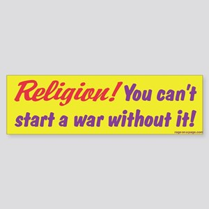 Religion-You Can't Start A War Without It