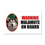 Malamute On Board Car Magnet 20 x 12