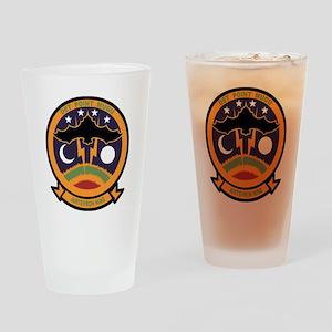 vx9logo02 copy Drinking Glass
