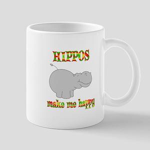 Hippos Make Me Happy Mug