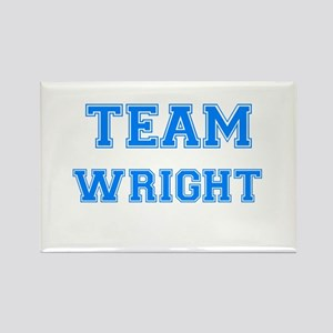 TEAM WRIGHT Rectangle Magnet