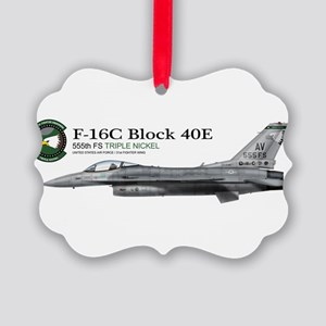 f16_555_fs_triple_nickel Picture Ornament