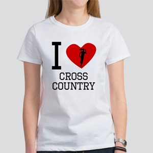 I Heart Cross Country T-Shirt
