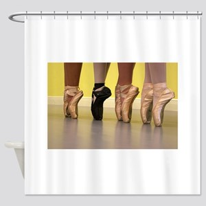 Ballet Dancers on Pointe or on Toes Shower Curtain