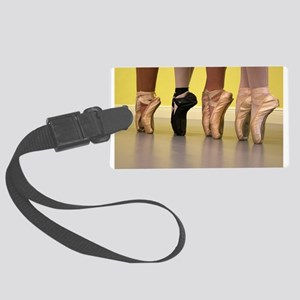 Ballet Dancers on Pointe or on Toes Luggage Tag
