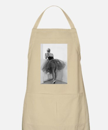 Ballerina Waiting Offstage Apron