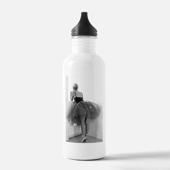 Ballerina Waiting Offstage Water Bottle
