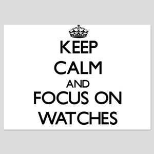 Keep Calm by focusing on Watches Invitations