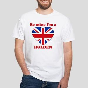Holden, Valentine's Day White T-Shirt