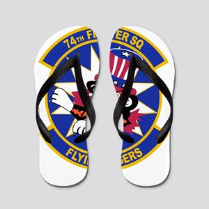 74th_fighter_sq_FLYING_TIGERS Flip Flops