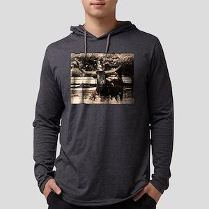 Longhorn Cattle Long Sleeve T-Shirt