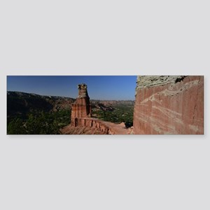 The Lighthouse in Palo Duro Canyon Bumper Sticker