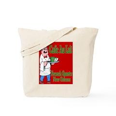Cafe Aulait Tote Bag