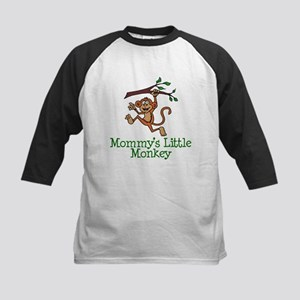 Mommy's Little Monkey Baseball Jersey