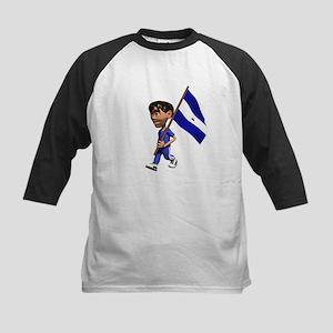 Nicaragua Boy Kids Baseball Jersey