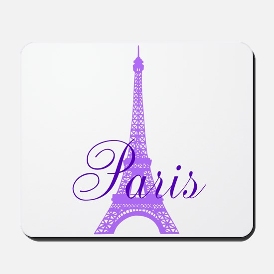 Paris Violet Mousepad