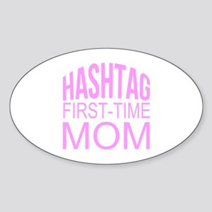 1st Time Mommy Hashtag Sticker