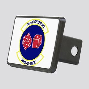 90TH_FIGHTER_f15 Rectangular Hitch Cover