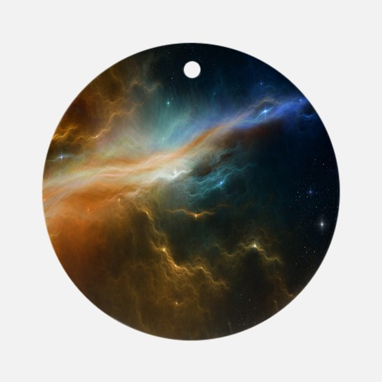 Deep Space Nebula Ornament (Round)