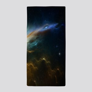 Deep Space Nebula Beach Towel